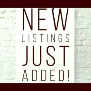 Other - New listings!!